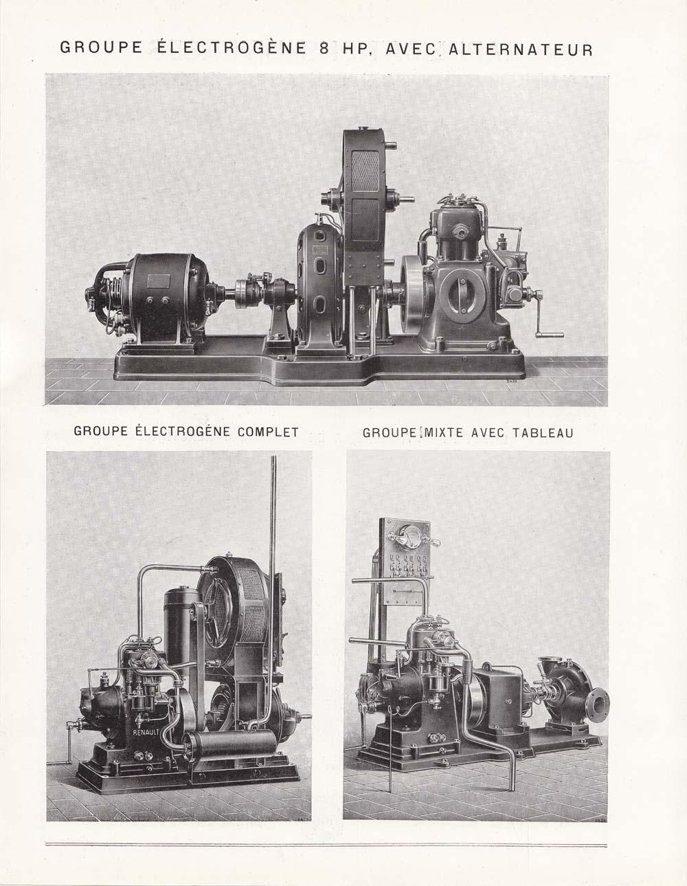 Moteur industriel 8 HP à 2 cylindres © APR Droits réservés