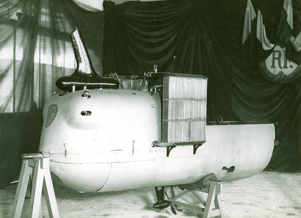 Nacelle Farman avec moteur Renault 150 cv - 1916 © APR Droits réservés