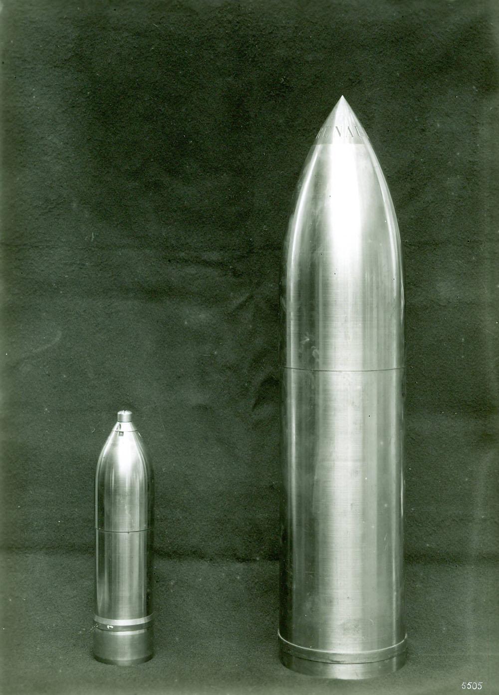 Obus de 155 et de 75 - 1916 © APR Droits réservés