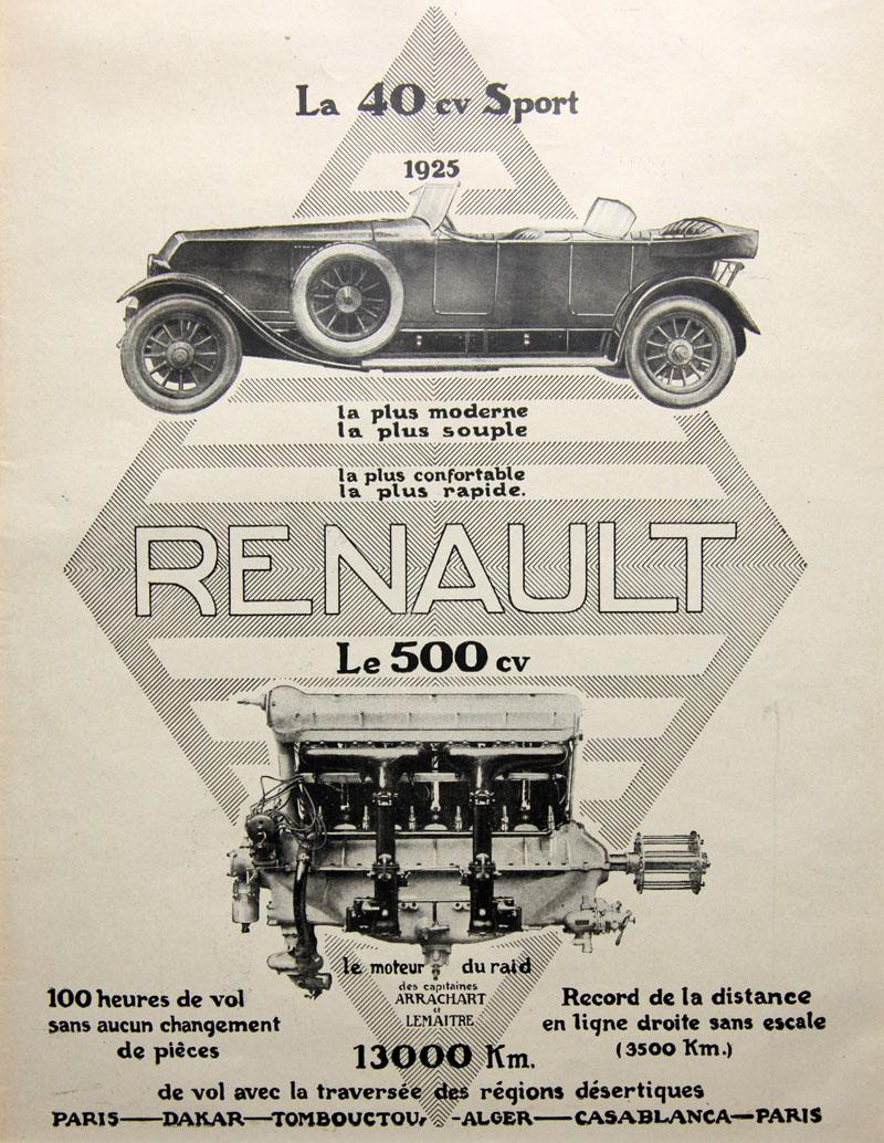 La 40 cv sport 1925 - Le 500 cv du raid Arrachart-Lemaitre