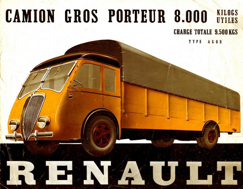 Camion modèle AGOD de 8 tonnes - 1937