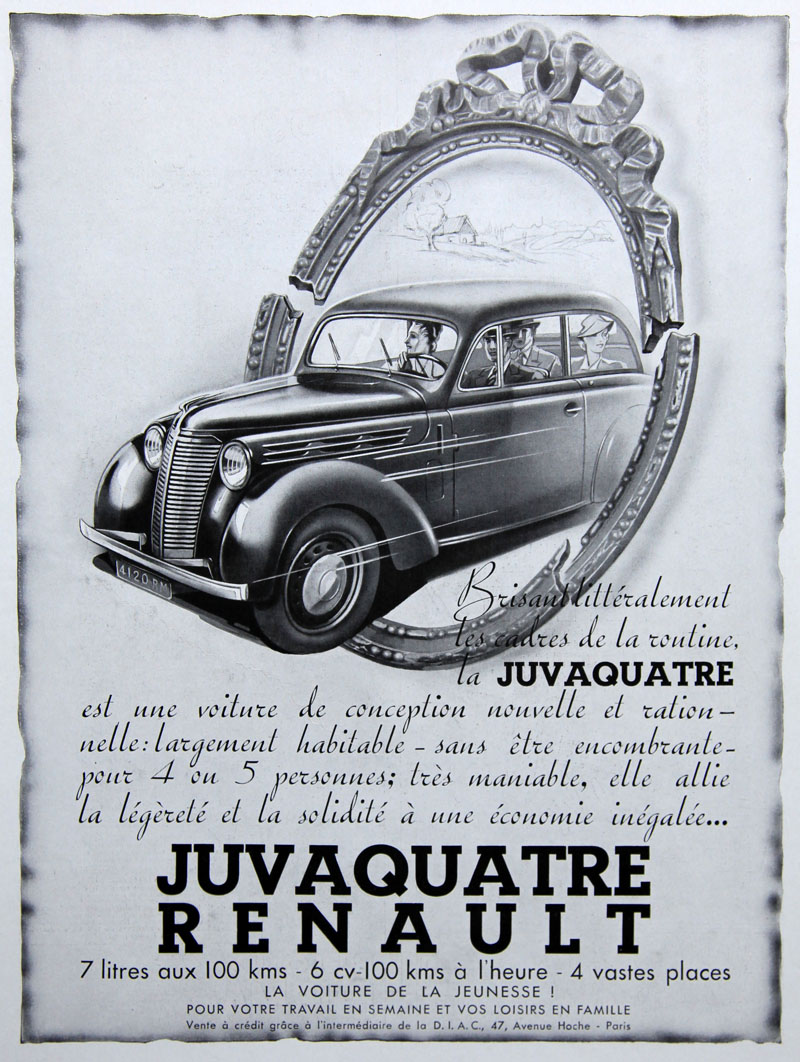 Juvaquatre - 1939