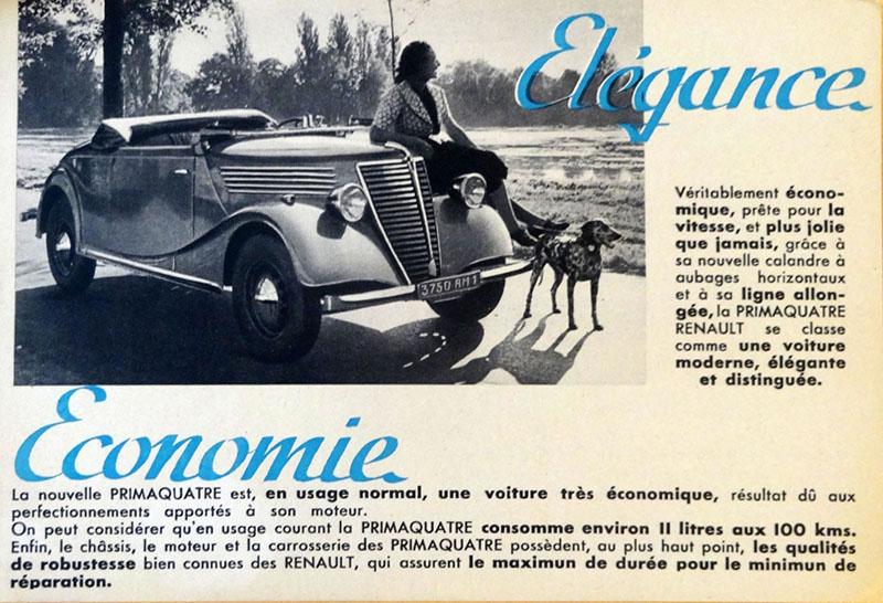 La nouvelle Primaquatre Renault © Archives de Crédit Agricole - Fonds du Crédit Lyonnais - DEEF 41087