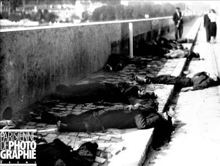 Résistants fusillés à Billancourt près des usines Renault. RV-364536 © Roger-Viollet/ Roger-Viollet/Paris en Images