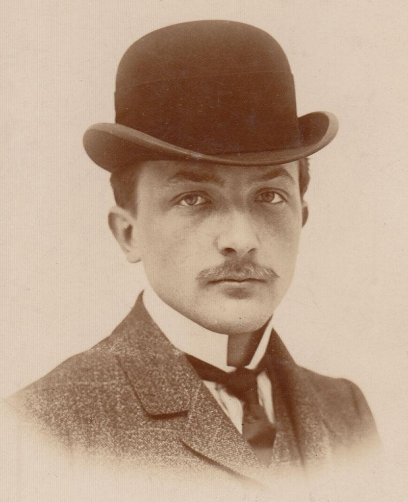 Charles-Edmond Serre vers 1910 © Jacqueline Serre - Tous droits réservés