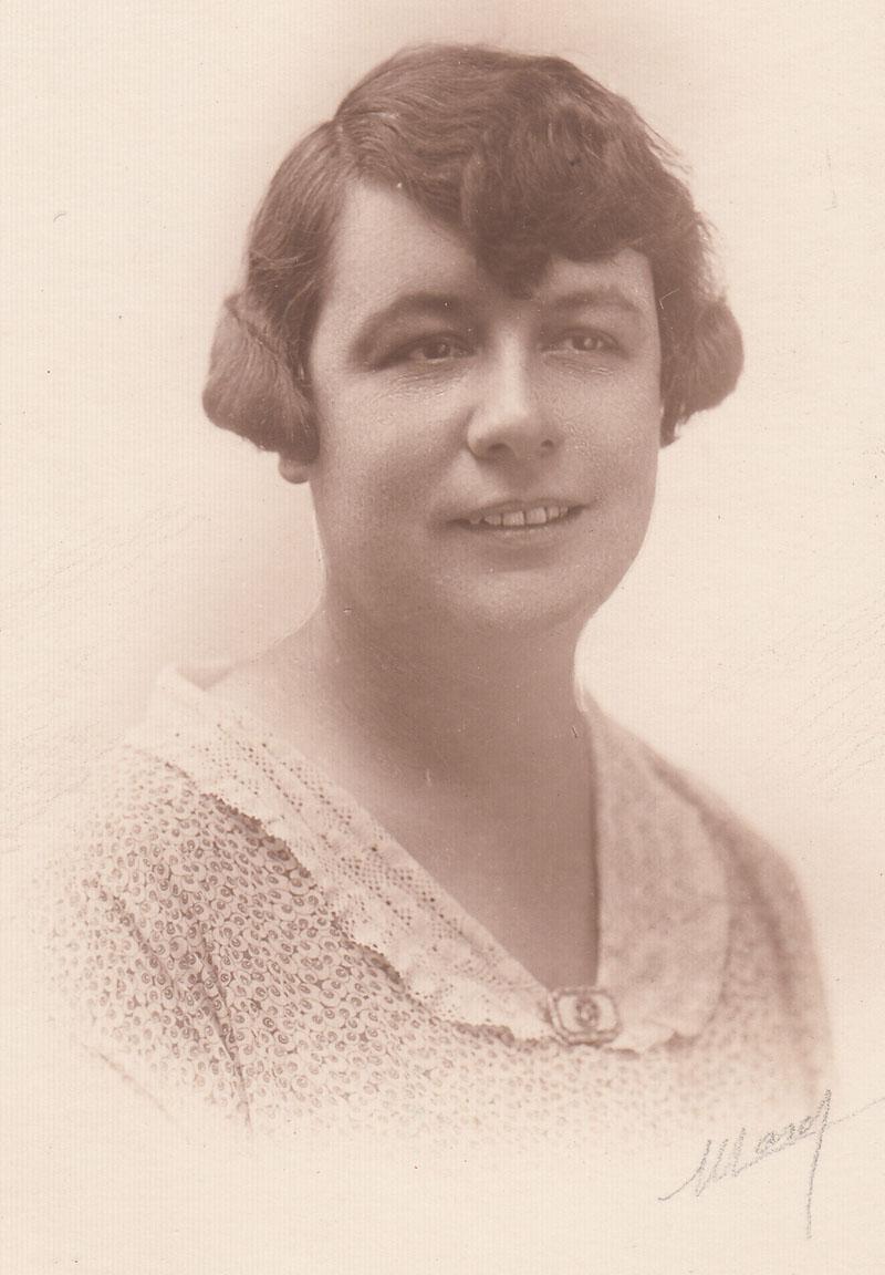 Germaine Serre vers 1936 © Jacqueline Serre - Tous droits réservés