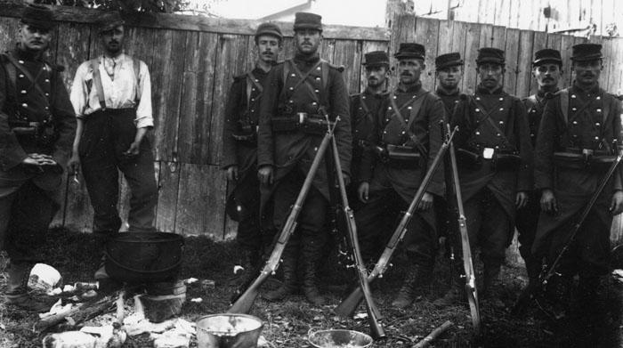 La photo est sans doute prise par Louis Renault avec l'appareil qu'il a lui même fabriqué, 1897-1898 © APR/Renault-Histoire