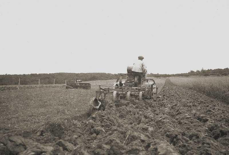 Essais d'un HI dans la ferme d'Herqueville (Archives ATR)