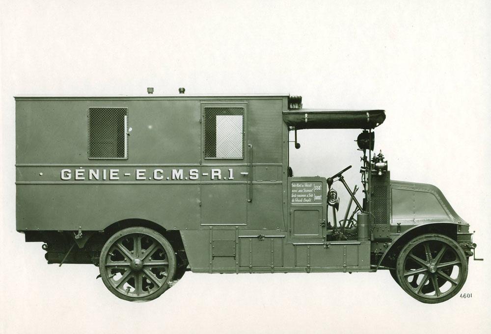 Voiture électrogène - 1915 © APR Droits réservés