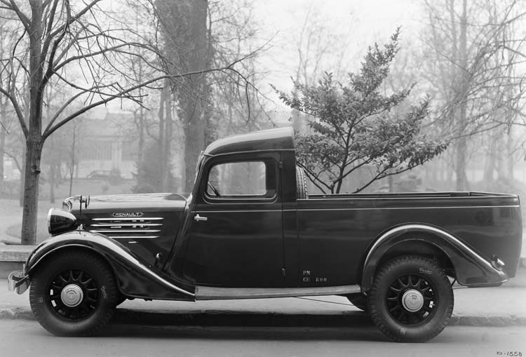 Camion léger châssis Renault type AD 48 cv 800 Kgs - 1936 © Renault communication / PHOTOGRAPHE INCONNU (PHOTOGRAPHER UNKNOWN) DROITS RESERVES